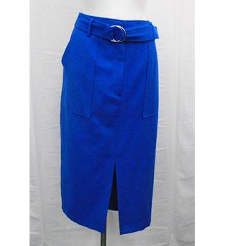 BNWOT M&S blue skirt Size 14