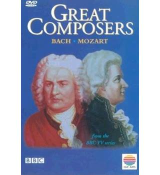 50% OFF SALE BBC's Great Composers Bach and Mozart DVD E