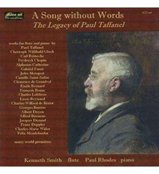 50% OFF SALE A Song Without Words The Legacy of Paul Taffanel 3 Disc Boxset With Booklet