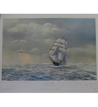 The Eye of the Wind - John Hamilton - Limited Edtion print  - signed