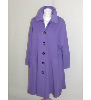 50% OFF SALE Jaeger Lilac Ladies Winter Coat Jaeger - Size: 10 - Purple - Casual jacket / coat