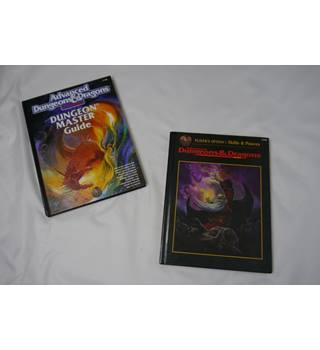 Advanced Dungeons and Dragons 2nd edition: Dungeon Master's Guide and Player's Option: Skills and Powers Bundle.
