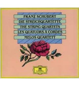 SCHUBERT The String Quartets - Melos Quartet