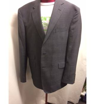 M&S Mens Suit M&S Marks & Spencer - Size: M - Grey - Single breasted suit