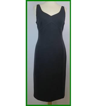 Linea - Size: 12 - Black - Knee length dress