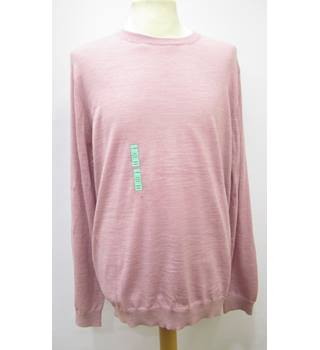 M&S Marks & Spencer - Size: XL - Pink - Sweater