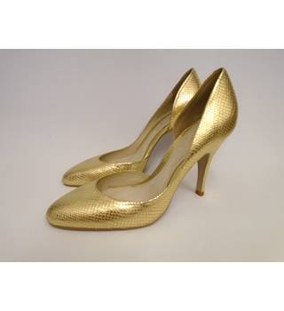 Oasis - Size: 8 - Gold - Court shoes