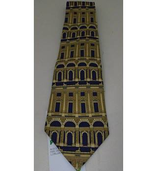 Past Times - Navy - Pure Silk Tie