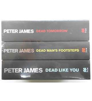 Roy Grace Trilogy: Dead Tomorrow, Dead Man's Footsteps, Dead Like You by Peter James