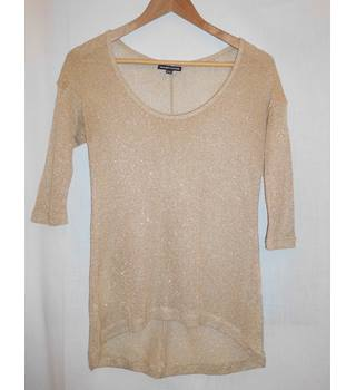 Warehouse - Size: 8 - Gold - Jumper