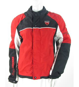 Ducati Corse - Size: 12 - Red - Textile Motorcycle Jacket