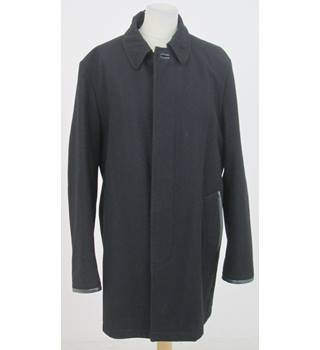 Jaeger - Size: M - Black Smart Overcoat