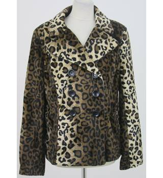 New Look - Leopard Print double breasted  jacket