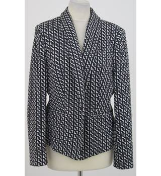 M&S  - Size: 16 - Black and White Blazer