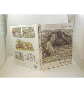 True to Form by David Bennett signed by author Langford Press 2007 1st ed unclipped d/j lovely wildlife illustrations