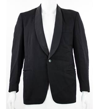 "DAKS - Size: 40""  - Black - Single Breasted Dinner Jacket"