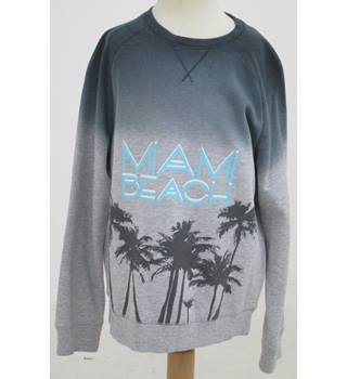 M&S- Age: 7-8 Years - Grey Miami beach Jumper