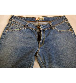"Levis 570 straight fit faded stretch blue jeans W32 L32 Levis - Size: 32"" - Blue - Jeans"