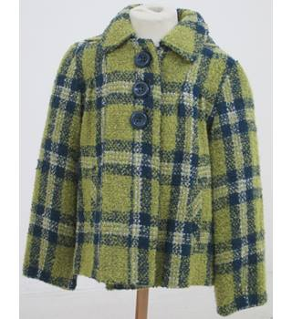 Next - Size: 7 - 8 Years - green & blue coat