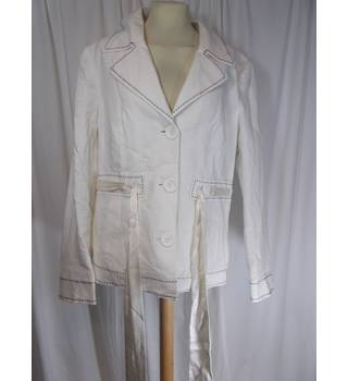Debenhams size 16 linen jacket