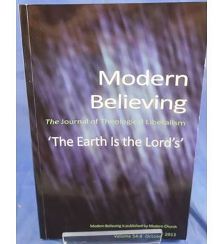 Modern Believing - Volume 54:4 October 2013