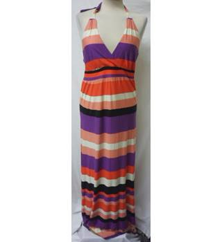 New Look - Size: 14 - Multi-coloured stripes - Long dress
