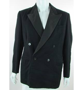 VINTAGE Buttons of Luton - Size: 42'' - Black - Double Breasted Dinner Jacket