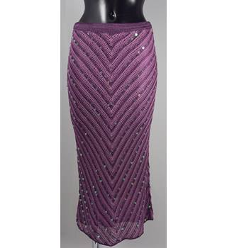 Bay Skirt - Purple - Size 12 Bay - Size: 12 - Purple