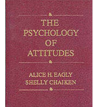 The psychology of attitudes