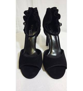 Marks and Spencers black ruffle heels BNWT 4 M&S Marks & Spencer - Size: 4 - Black
