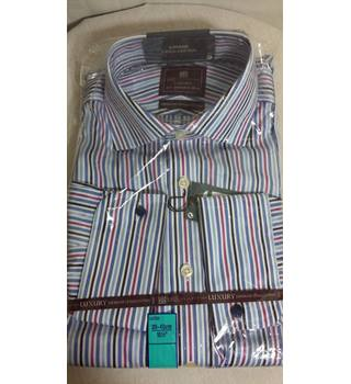 M&S luxury collection striped shirt BNWT 15.5 regular fit 39-40cm M&S Marks & Spencer - Size: L - Multi-coloured