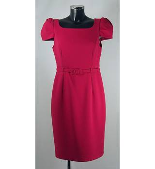 M&S Petite Dress - Raspberry - Size 12 M&S Marks & Spencer - Size: 12 - Pink