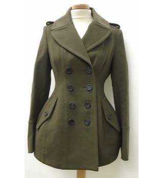 BURBERRY - Size: 36 - Brown - Smart jacket - wool/Cashmere