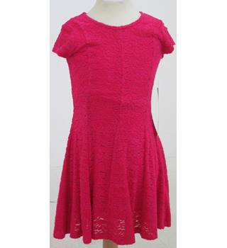 Tu - age 6 years Pink Lace Skater Dress