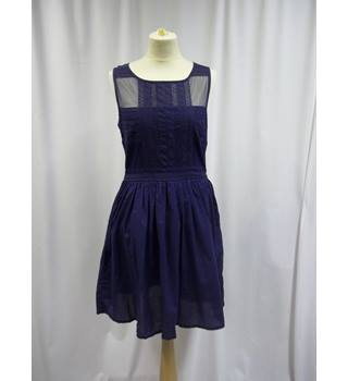 Warehouse - Size: 12 - Blue - Short Dress