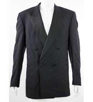"Alexandre for John Lewis - Size: 42"" - Black - Double Breasted Dinner Jacket"