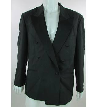 "Pierre Cardin - Size: 42"" - Black - Double Breasted Dinner Jacket"