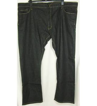 "M&S Marks & Spencer - Size: 48"" - Black - Jeans"