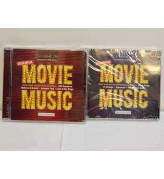 Brand new - Classic FM Essential Movie Music Volumes 1 & 2 Various