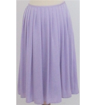 NWOT M&S Collection size: 14 lilac calf length skirt