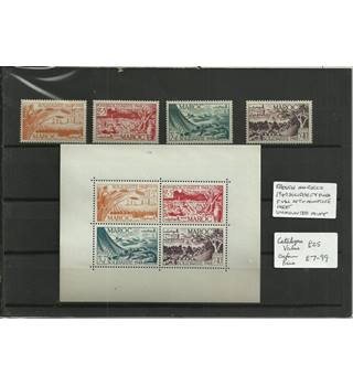 French Morocco 1949 Multi-coloured