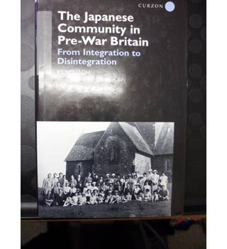 The Japanese Community in Pre-War Britain-Keiko Itoh