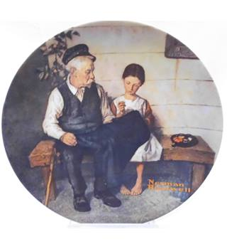 "Vintage Edwin Knowles collectable plate limited edition with certificate - ""The Lighthouse Keeper's Daughter"""