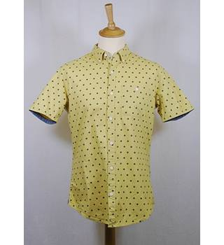 Next - Size: M - Mustard Yellow - Short Sleeved Shirt
