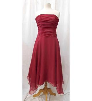 Monsoon - Size: 10 - Red - Cocktail dress