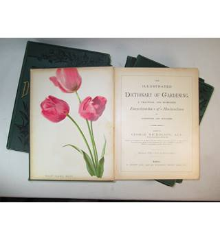 The Illustrated Dictionary of Gardening, a practical and scientific encyclopaedia of horticulture for gardeners and botanists