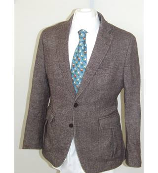 50% OFF SALE Banana Republic Mens Brown Blazer Banana Republic - Size: L - Brown - Jacket