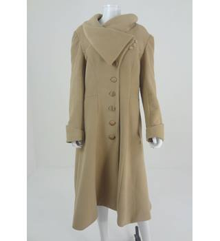 Vaute Couture Size XL Smart Coat In Sand
