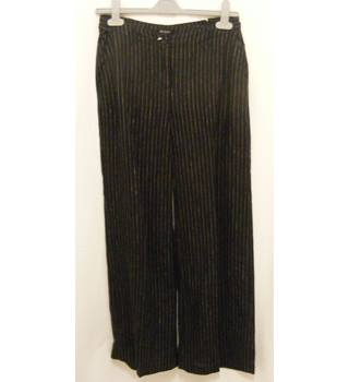 "Hobbs - Size: 30"" - Black pin stripped  trousers"