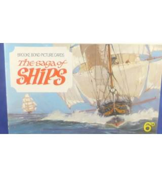 Brooke Bond Picture Cards - The Saga Of Ships